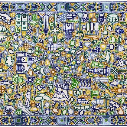 1.Alegría de Vivir, Acryl auf Lwd, 100x150 cm