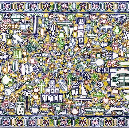 6.Entre Marbella y Estepona, Acryl auf Lwd., 100x150 cm