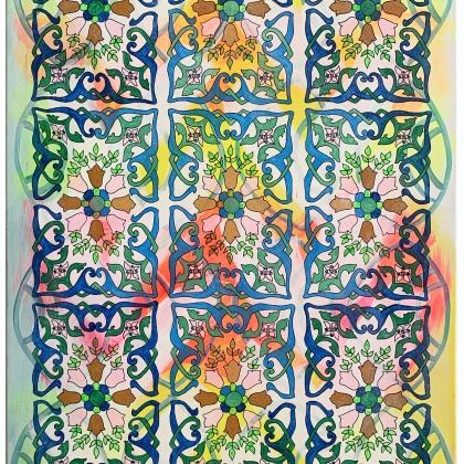 11. Estepona, Acryl auf Lwd., 70x100 cm