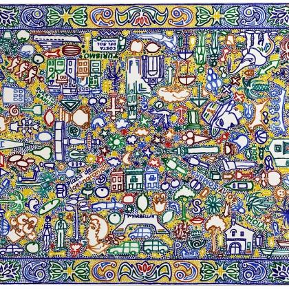 3.Marbella, Acryl auf Lwd., 100x150 cm
