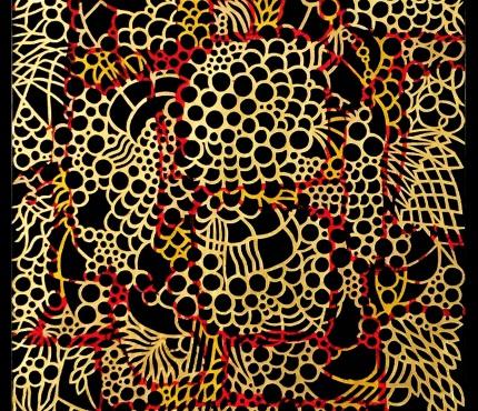 Cut6-Gold-70x100 cm