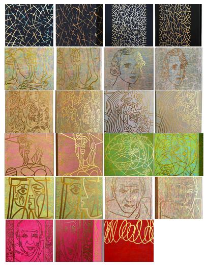 6. Der goldene Strich – Zeichnen mit Blattgold